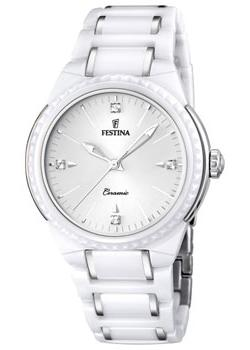 fashion наручные  женские часы Festina 16698.1. Коллекция Ceramic
