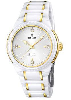 fashion наручные  женские часы Festina 16698.2. Коллекция Ceramic