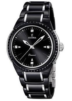 fashion наручные  женские часы Festina 16698.4. Коллекция Ceramic
