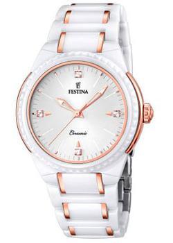 fashion наручные  женские часы Festina 16698.5. Коллекция Ceramic