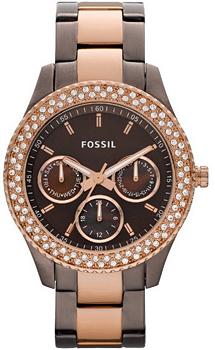 fashion наручные  женские часы Fossil ES2955. Коллекция Stella