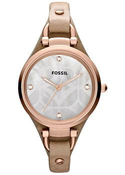 fashion наручные  женские часы Fossil ES3151. Коллекция Georgia