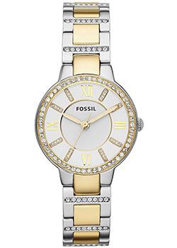 fashion наручные  женские часы Fossil ES3503. Коллекция Virginia.