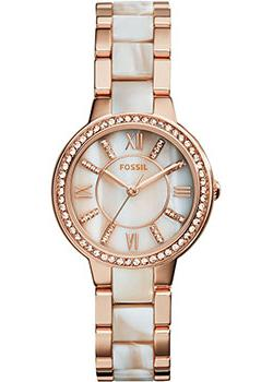 fashion наручные  женские часы Fossil ES3716. Коллекция Virginia.