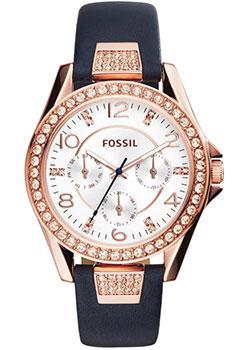 fashion наручные  женские часы Fossil ES3887. Коллекция Riley