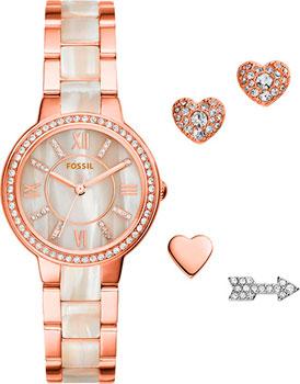 fashion наручные  женские часы Fossil ES3965_set. Коллекция Virginia