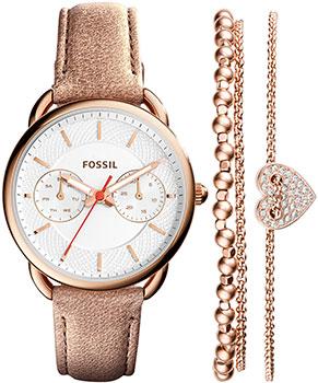 fashion наручные  женские часы Fossil ES4021_SET. Коллекция Tailor