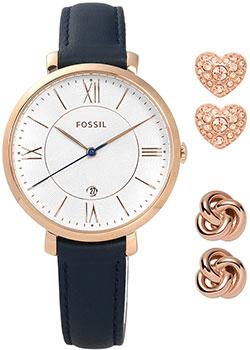 fashion наручные  женские часы Fossil ES4140_SET. Коллекция Jacqueline