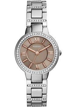 fashion наручные  женские часы Fossil ES4147. Коллекция Virginia