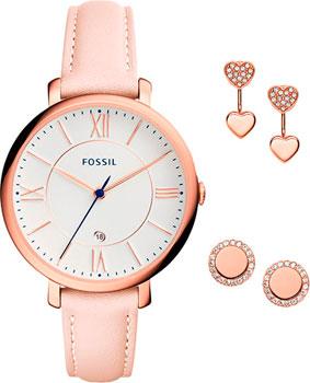 Fashion наручные женские часы Fossil ES4202_set. Коллекция Jacqueline фото