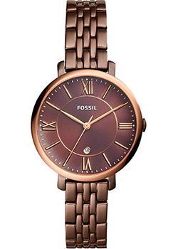 fashion наручные  женские часы Fossil ES4275. Коллекция Jacqueline
