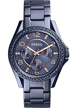 fashion наручные  женские часы Fossil ES4294. Коллекция Riley