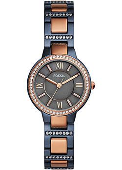 fashion наручные  женские часы Fossil ES4298. Коллекция Virginia