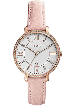 fashion наручные  женские часы Fossil ES4303. Коллекция Jacqueline