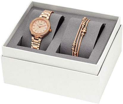 fashion наручные  женские часы Fossil ES4337_SET. Коллекция Blane