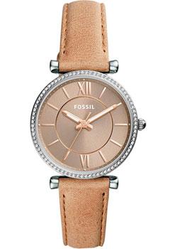 fashion наручные  женские часы Fossil ES4343. Коллекция Carlie.