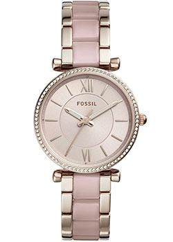 fashion наручные  женские часы Fossil ES4346. Коллекция Carlie