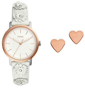 fashion наручные  женские часы Fossil ES4383_SET. Коллекция Neely.
