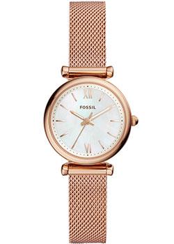 fashion наручные  женские часы Fossil ES4433. Коллекция Carlie.