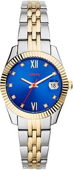 fashion наручные  женские часы Fossil ES4899. Коллекция Scarlette.