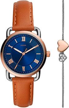fashion наручные  женские часы Fossil ES4913_SET. Коллекция Copeland.