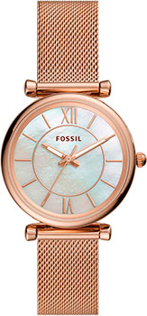 fashion наручные  женские часы Fossil ES4918. Коллекция Carlie.