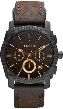 Наручные  мужские часы Fossil FS4656IE. Коллекция Machine