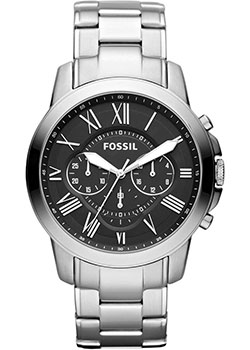 Наручные  мужские часы Fossil FS4736IE. Коллекция Grant