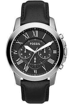 Наручные  мужские часы Fossil FS4812IE. Коллекция Grant