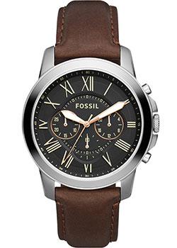 fashion наручные  мужские часы Fossil FS4813IE. Коллекция Grant.