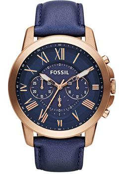 fashion наручные  мужские часы Fossil FS4835. Коллекция Grant
