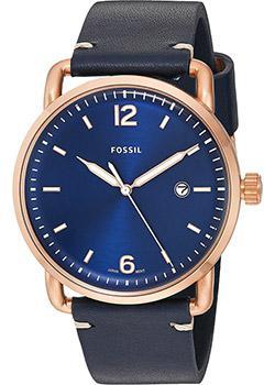 fashion наручные  мужские часы Fossil FS5274. Коллекция Commuter.