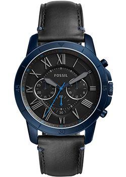 Наручные  мужские часы Fossil FS5342. Коллекция Grant