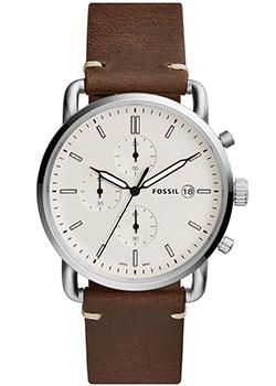 Наручные  мужские часы Fossil FS5402. Коллекция The Commuter