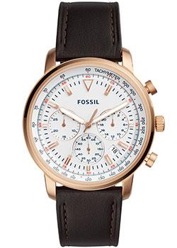 Наручные  мужские часы Fossil FS5415. Коллекция Goodwin