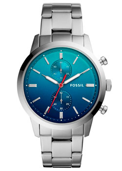 Наручные  мужские часы Fossil FS5434. Коллекция Townsman