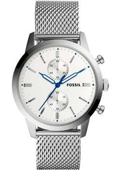 Наручные  мужские часы Fossil FS5435. Коллекция Townsman