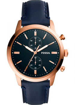 Наручные  мужские часы Fossil FS5436. Коллекция Townsman