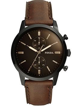 fashion наручные  мужские часы Fossil FS5437. Коллекция Townsman.