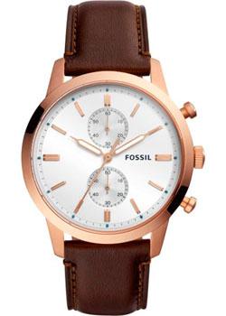 fashion наручные  мужские часы Fossil FS5468. Коллекция Townsman.