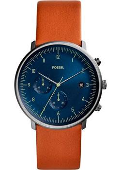 fashion наручные  мужские часы Fossil FS5486. Коллекция Chase.