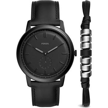 Наручные  мужские часы Fossil FS5500_SET. Коллекция The Minimalist
