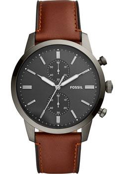 fashion наручные  мужские часы Fossil FS5522. Коллекция Townsman.
