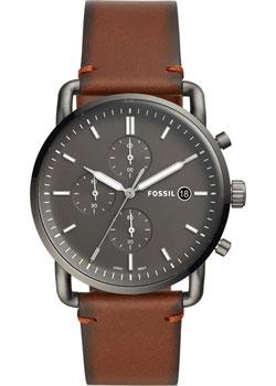 Наручные  мужские часы Fossil FS5523. Коллекция The Commuter