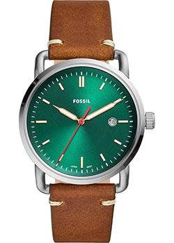 Наручные  мужские часы Fossil FS5540. Коллекция The Commuter
