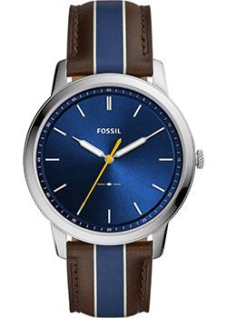 Наручные  мужские часы Fossil FS5554. Коллекция The Minimalist