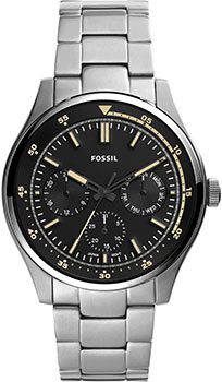 Наручные  мужские часы Fossil FS5575. Коллекция Belmar