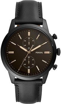 Наручные  мужские часы Fossil FS5585. Коллекция Townsman