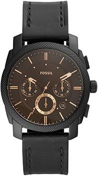 Наручные  мужские часы Fossil FS5586. Коллекция Machine