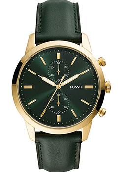 Fashion наручные мужские часы Fossil FS5599. Коллекция Townsman фото